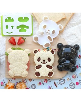 [OTHER BRAND] 3in1 Panda Mould / Cutter with box
